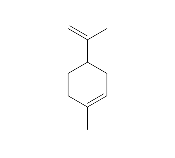 Limonene chemical structure