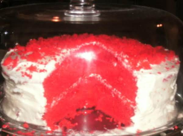 The Infamous Red Velvet Cake Recipe