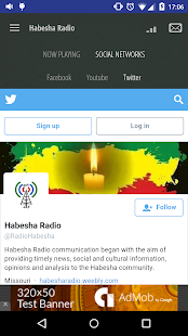 Habesha Radio- screenshot thumbnail