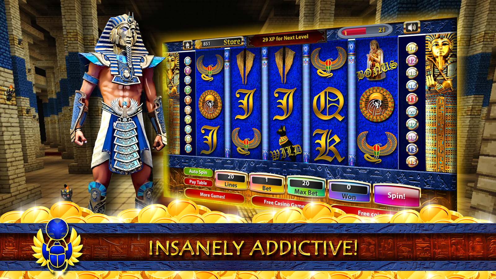 free play online slot machines cleopatra bilder