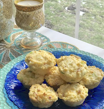 Cottage Cheese, Egg, And Ham Muffins Recipe