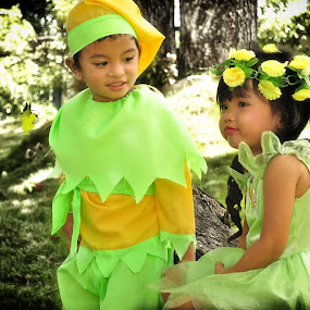 peter pan and tinkerbel  by Jaja Red - Novices Only Portraits & People