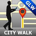 Glasgow Map and Walks icon