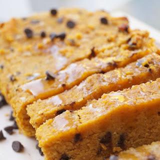 Healthy Pumpkin Chocolate Chip Bread (Gluten-Free!)