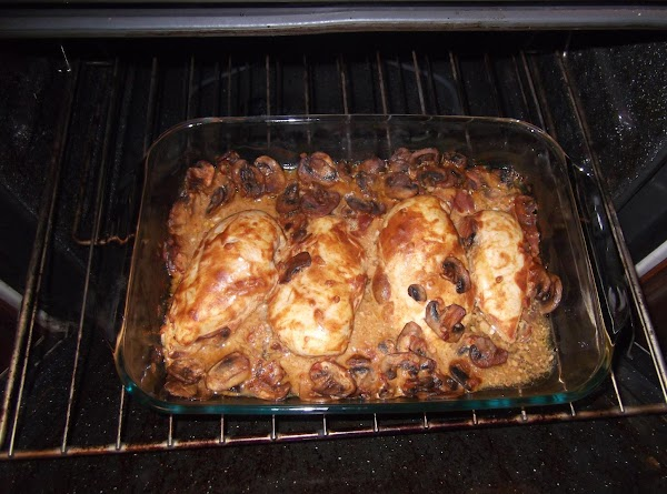 Bake until done (about 45 minutes) - use meat thermometer.