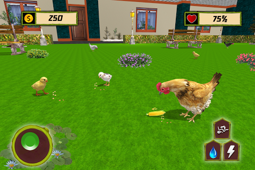 New Hen Family Simulator: Chicken Farming Games apkpoly screenshots 7