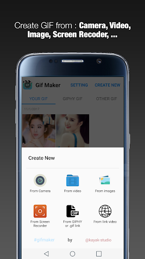 GIF Maker - GIF Editor by Kayak Studio (Google Play, United