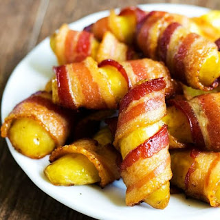 Bacon Wrapped Fingerling Potatoes