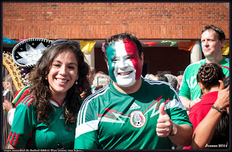 Photo: copa mundial de futbol 2014: Tan cerca, tan lejos... Países Bajos 2-1 México