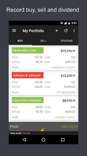 ? ? JStock - Stock Market & U.S. Investing screenshot 8