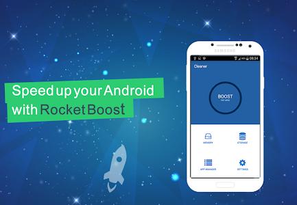 Rocket Boost - Speed up Phone 2.5
