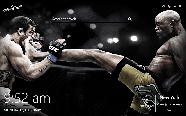 UFC MMA Fighters HD Wallpapers New Tab Theme