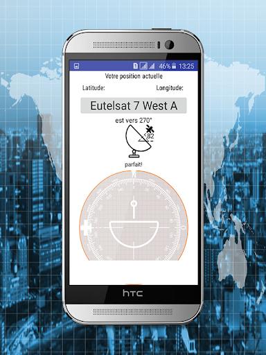Satellite Finder - Satellite Locator 1.0 screenshots 1