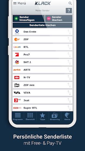 KLACK Fernseh- & TV-Programm 1.18.8 screenshots 4