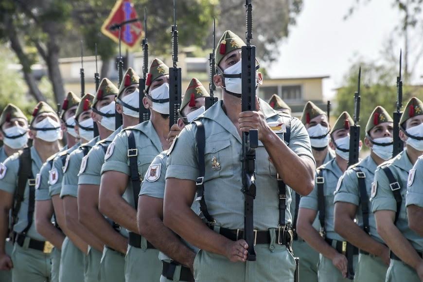 Unidades en formación.