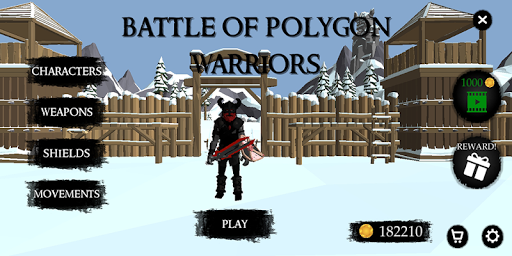 Code Triche Battle Of Polygon Warriors APK MOD screenshots 1