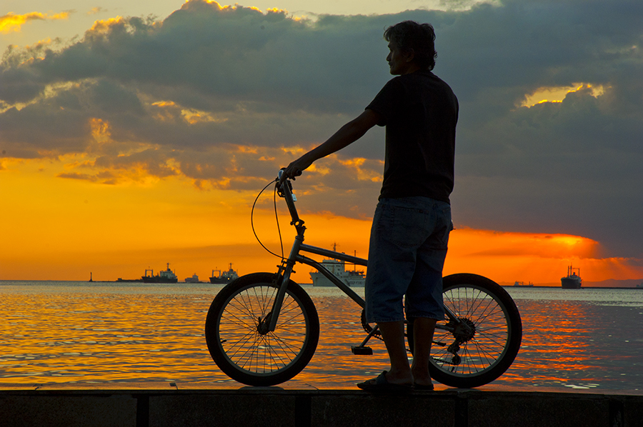 at sunset by Rob Reyes - Transportation Bicycles
