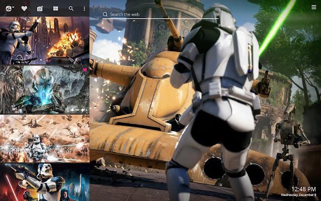 Clone Trooper Hd Wallpaper New Tab Theme