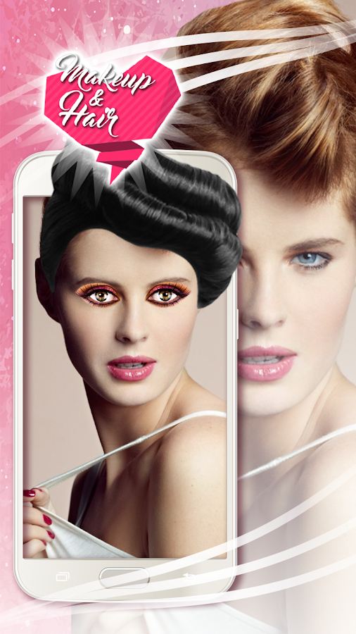 makeup hair salon pic editor android apps on play