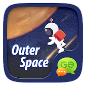 (FREE)GO SMS OUTER SPACE THEME