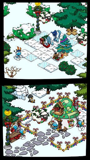 Smurfs' Village Spel (APK) gratis nedladdning för Android/PC/Windows screenshot