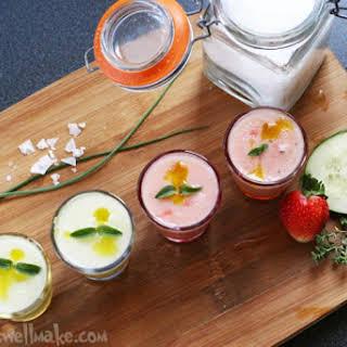 Strawberry Melon Gazpacho.