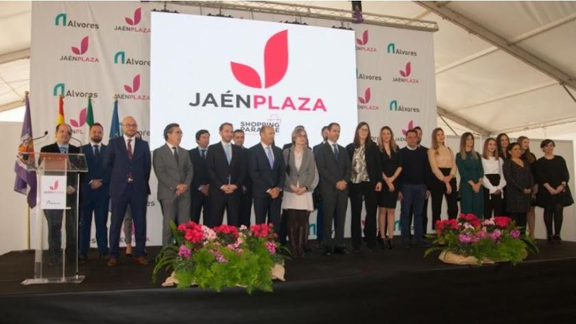 Inauguración de la primera fase del Centro Comercial Jaén Plaza, promovido por Grupo Alvores.