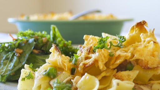 10 Best Tuna Casserole With Mushroom Soup And Potato Chips