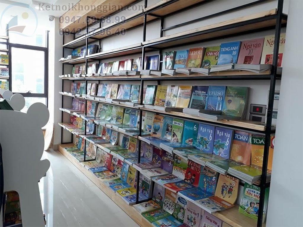 thiết kế nội thất đẹp cho nhà sách