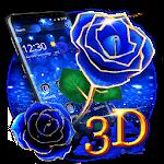 3D Love Rose Theme Icon