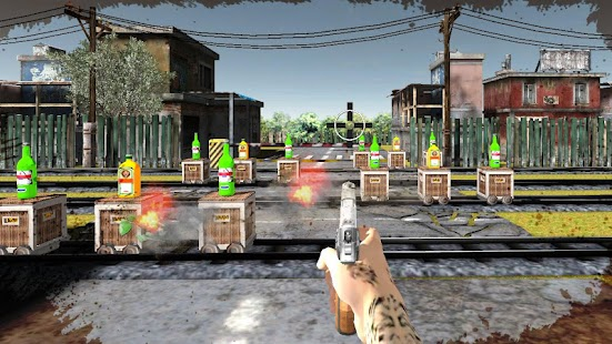 3D Bottle Shoot : Gun Shooting Games - náhled