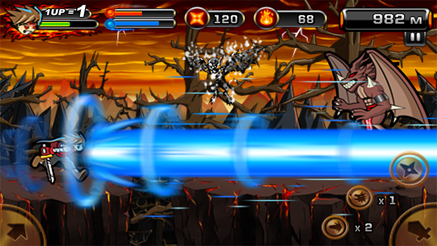 Screenshots of Devil Ninja 2 for iPhone
