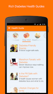 Sugar Sense - Diabetes App- screenshot thumbnail