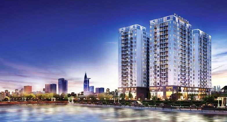 Dự án căn hộ Q7 Riverside toạ lạc trên đường Đào Trí
