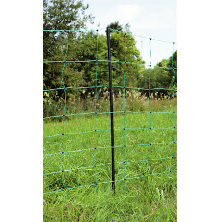 Fårelnät Standard 90 cm Grön Enkelspets 50 Meter