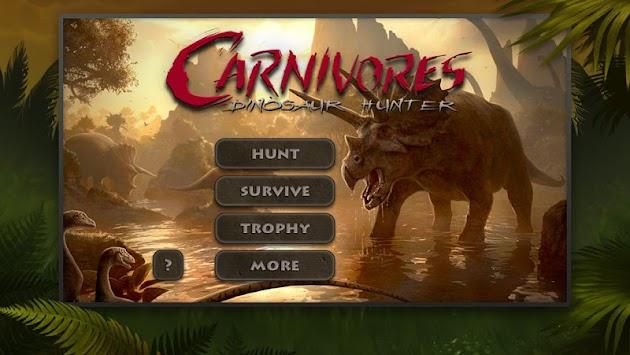 Carnivores: Dinosaur Hunter HD