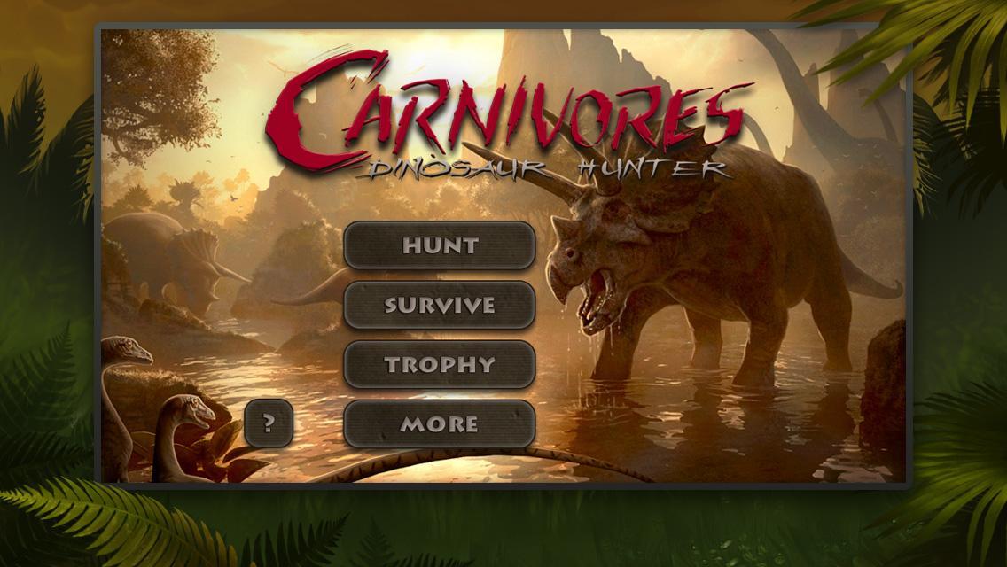 Carnivores Dinosaur Hunter Hd Free