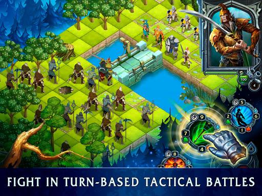 Heroes of War Magic.  Turn-based strategy 1.4.0.3 screenshots 7