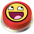 Awesome Face Song Button icon