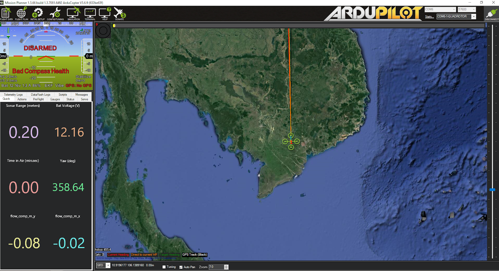 Integration of ArduPilot and VIO tracking camera (Part 2): Complete