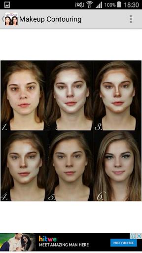 Makeup Contouring  screenshots 5