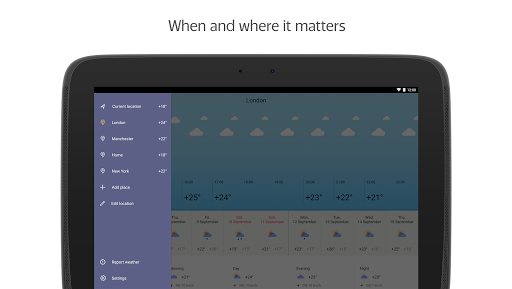Yandex.Weather screenshot 7