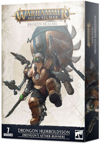 BROKEN REALMS: DRONGON´S AETHER-RUNNERS