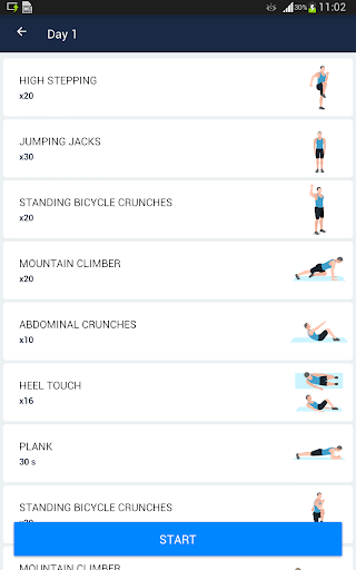 Six Pack in 30 Days - Abs Workout 1.0.2 screenshots 9