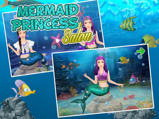 Princess Salon Mermaid Makeup