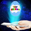 Hologram Surprise Eggs 3D icon