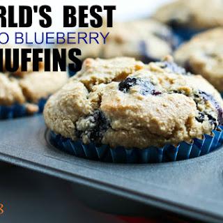 JUMBO Vanilla Blueberry Muffins