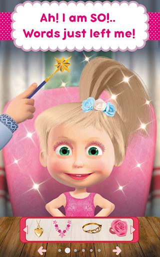 Masha and the Bear: Hair Salon and MakeUp Games 1.0.5 screenshots 21