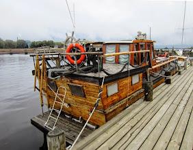 Photo: Vene Pielisjoen rannalla