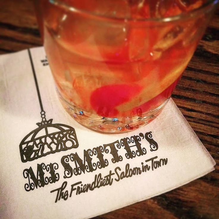 A whiskey sour at Mr. Smiths. Photo: rabidsquirrelninja / Instagram.